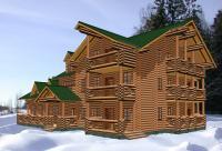 Жилые дома площадью от  300 квадратных метров